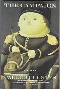جلد رمان نبرد اثر کارلوس فوئنتس - نسخهی انگلیسی