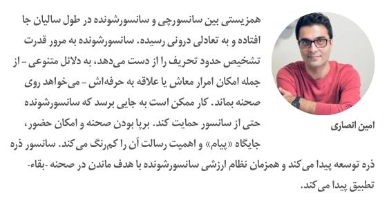 نامه ۲۵۰ هنرمند تئاتر به وزیر ارشاد در مورد سانسور - امین انصاری